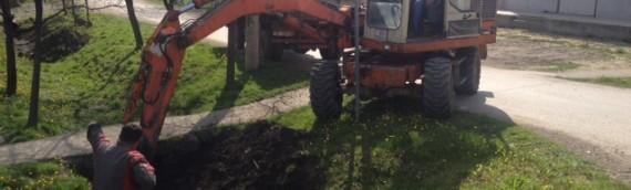 Sanacija kanala za odvodnju oborinskih voda u ulici Branka Radičevića