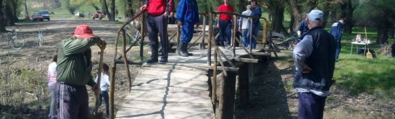 Sanacija mostića na Dunavu