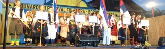Održan 15. Međunarodni festival u Borovu