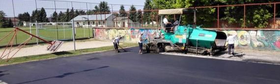 Novi kvadrati asfalta u Borovu