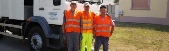 Odvoz komunalnog otpada u organizaciji EKO-DUNAVA
