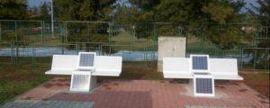 solarne klupe u Borovu