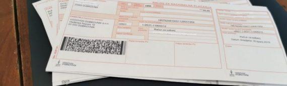 Od ponedeljka, 11. maja ponovo plaćanje računa u Općini Borovo